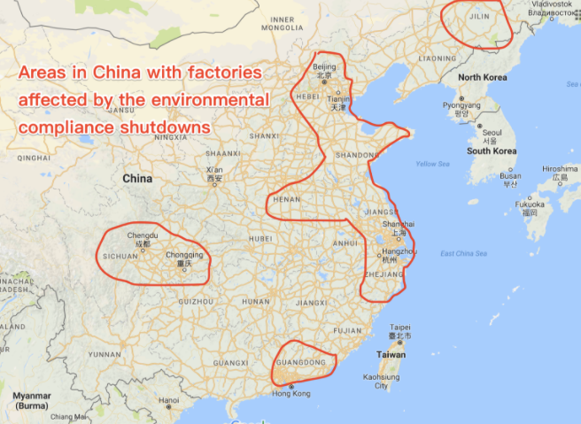"China ""EPA"" crackdown shuts down tens of thousands of factories"